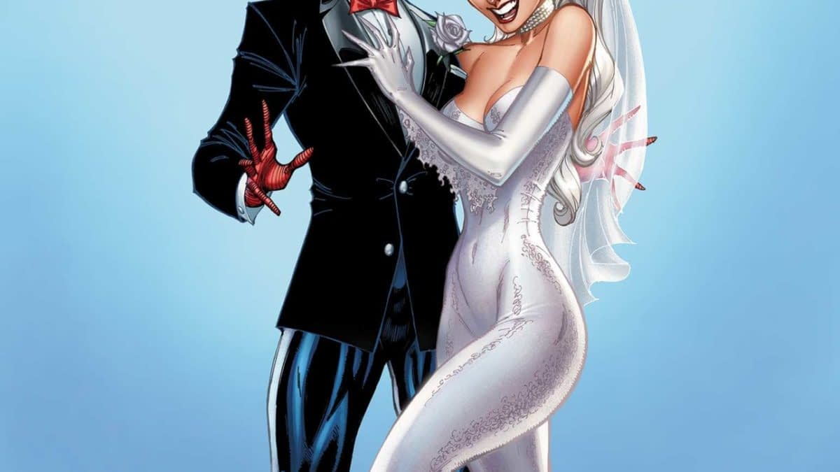 Peter Parker to Marry Felicia Hardy In Spider-Man/Black Cat Wedding? Photos by J Scott Campbell