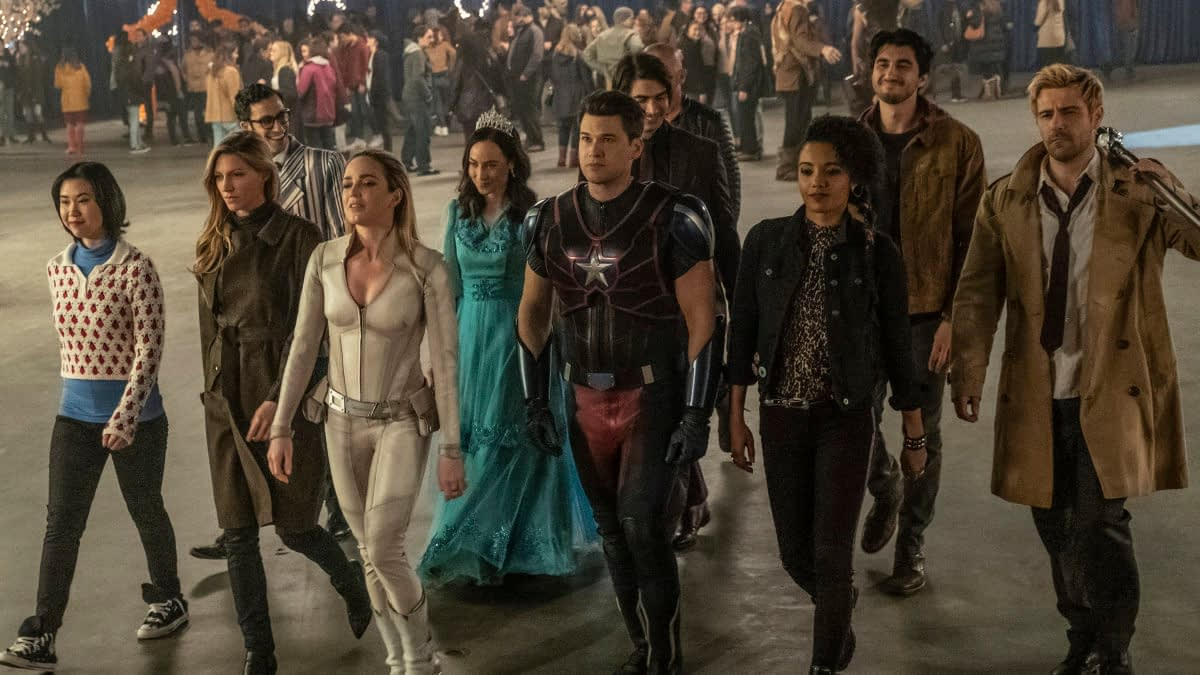 """DC's Legends of Tomorrow"" Season 5: Brandon Routh, Courtney Ford Leaving Series"