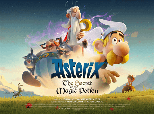 Asterix: The Secret Of The Magic Potion Has Many Surprises - Including Jesus as a Druid