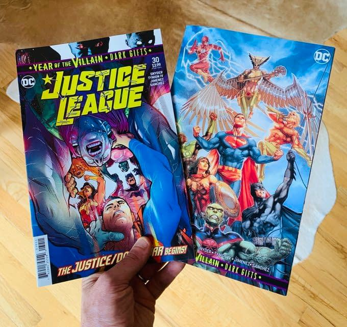 Snyder is Happy if You Only Buy One Justice League - as Long as It's This Week
