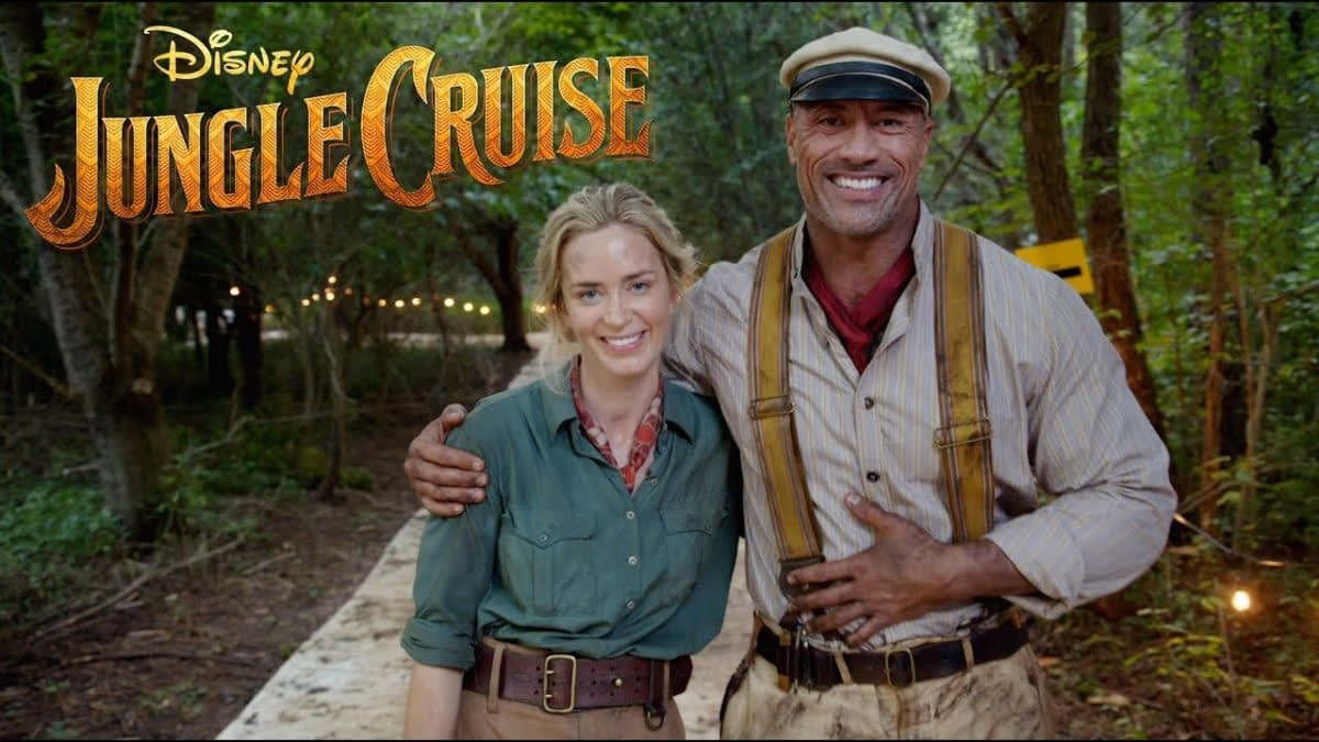 Jungle Cruise First Look at D23 with Dwayne Johnson and Emily Blunt