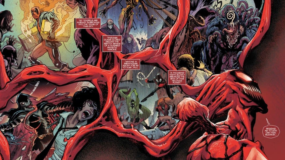 What Order Should You Read Absolute Carnage Titles Today Anyway? Opinions Differ...
