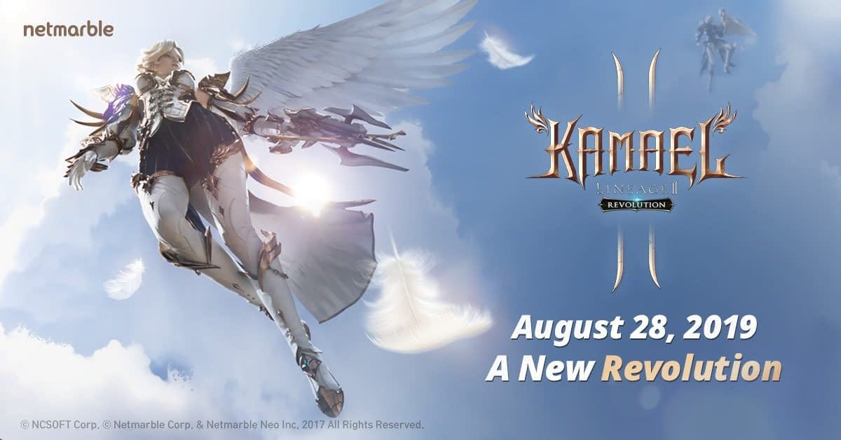 """Latest Update to """"Lineage II: Revolution"""" Adds the Fearsom Kamael Race"""