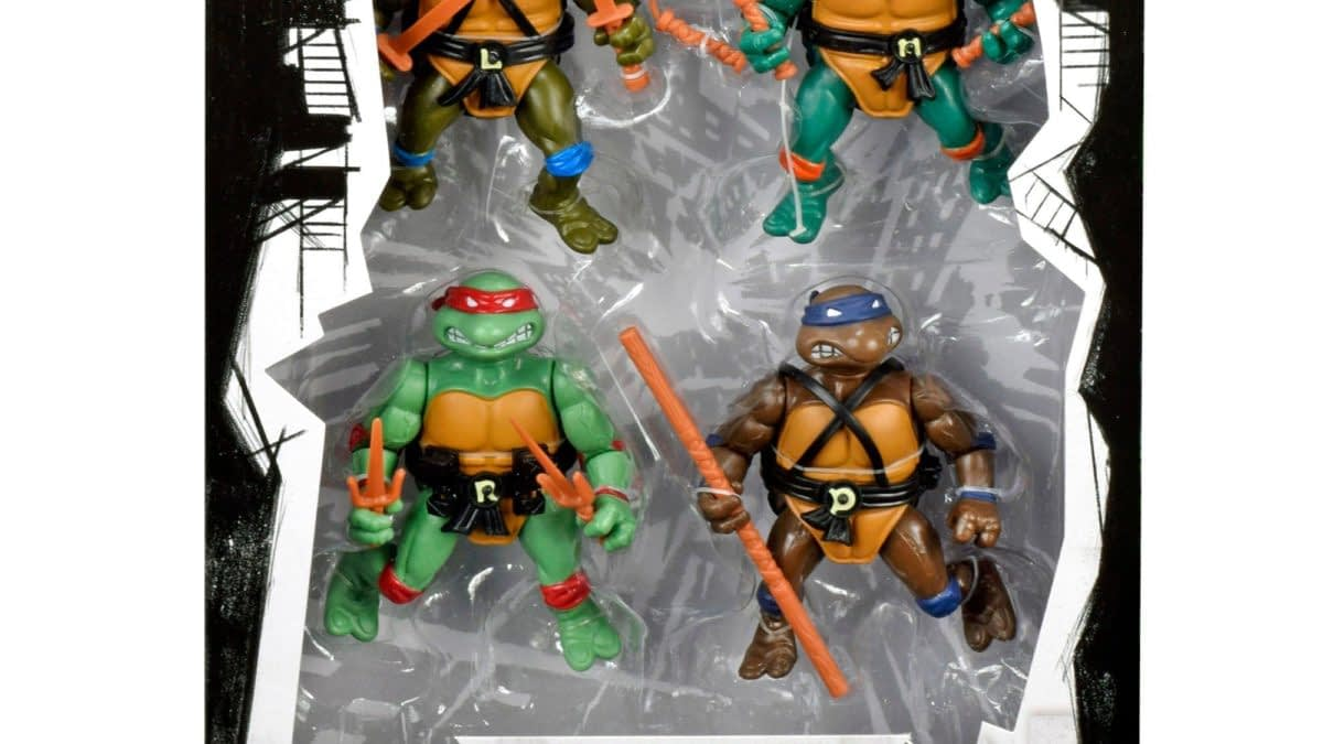 Teenage Mutant Ninja Turtles 1980s Figures Return with Gamestop