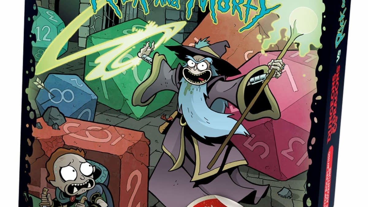 """The """"Dungeons & Dragons"""" """"Rick And Morty"""" Adventure Is On Amazon"""