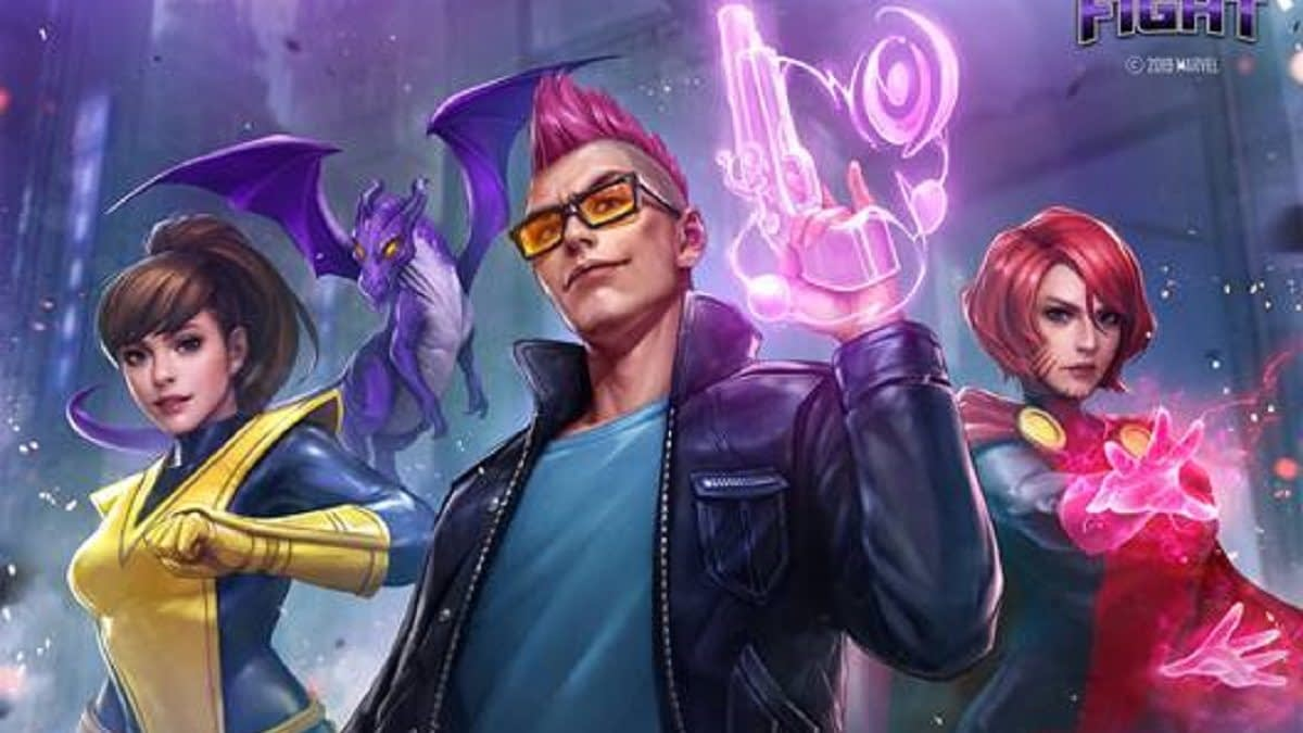 "The X-Men Phoenix Five Come To ""Marvel Future Fight"""