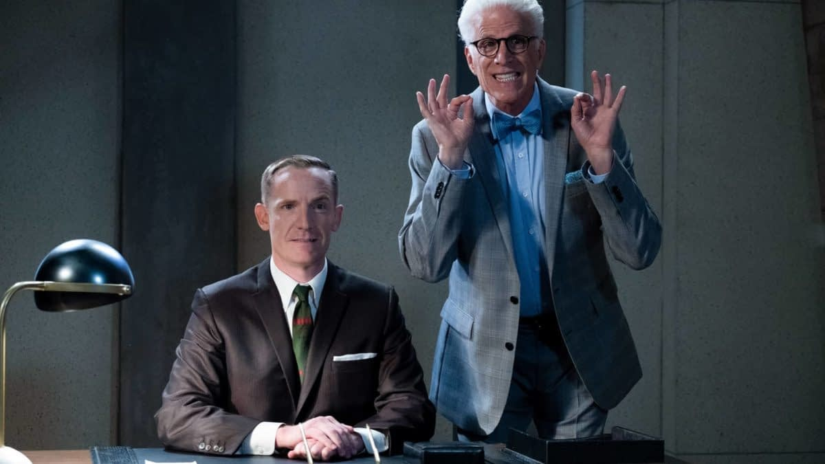 """The Good Place"" Season 4: Shawn & The Bad Place Council Begin Their Selections [PREVIEW]"