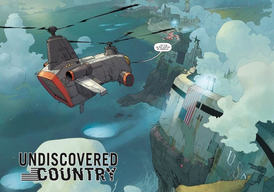 Undiscovered Country Sold For Over A Million Dollars to New Republic Pictures - Will Scott and Charles Be Buying Everyone Drinks at New York Comic Con?
