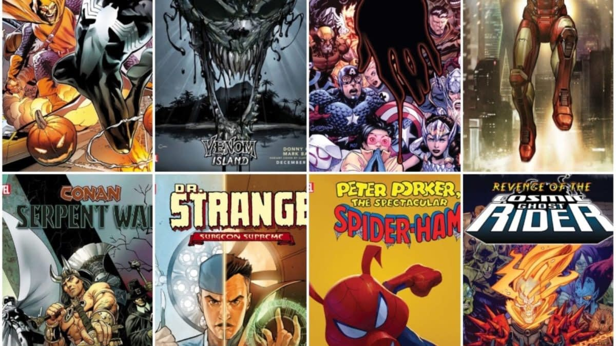 Marvel Comics December 2019 Solicitations, From Incoming to Venom, Frankensteined (2099 UPDATE)