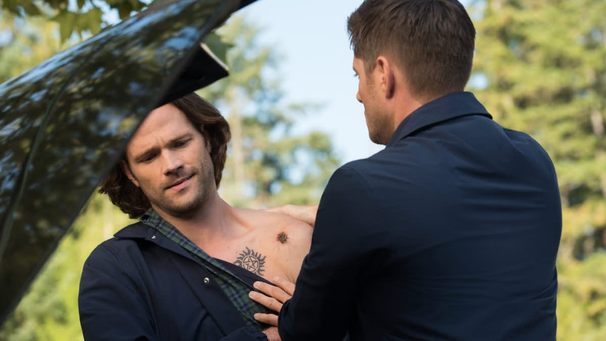 """Supernatural"" Season 15: Sam, Dean, & Castiel vs. God - Sounds Like a Fair Fight, Right? [PREVIEW IMAGES]"