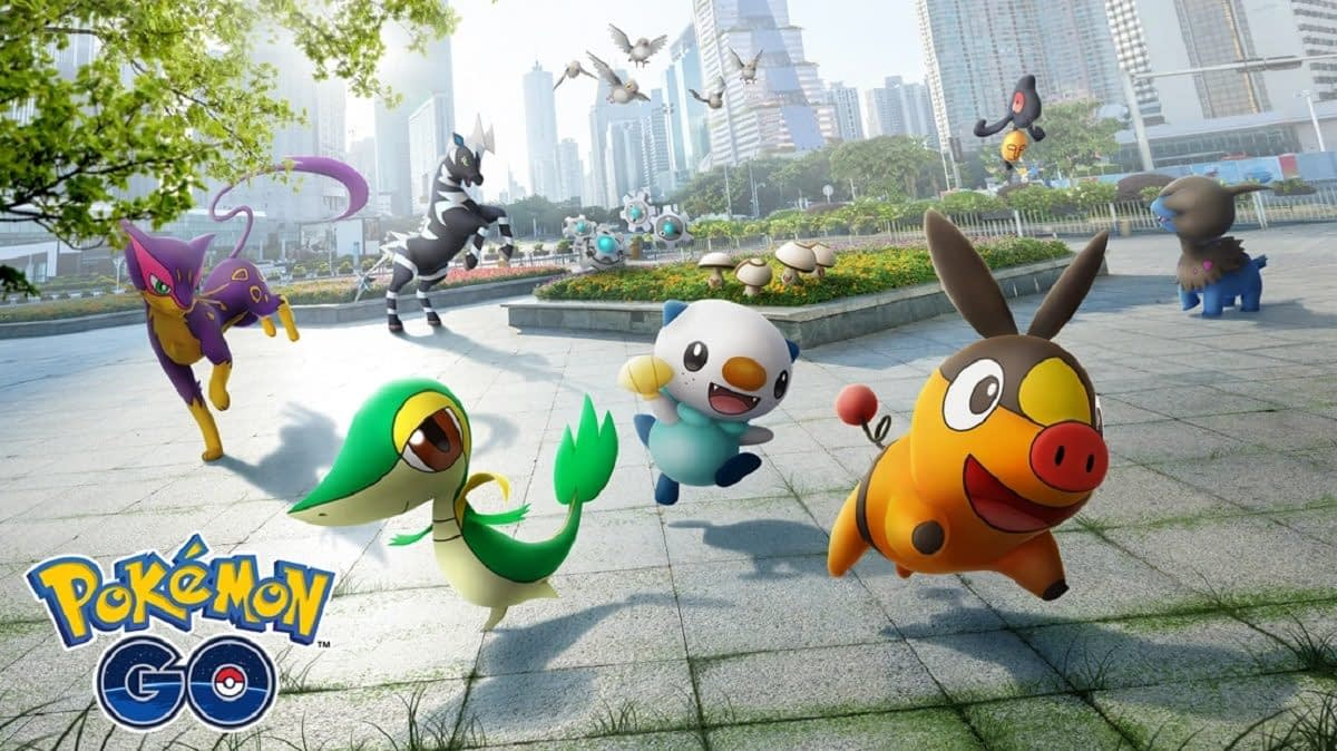 """Pokémon GO"" Brings In The Unova Region Pokémon To The Game"