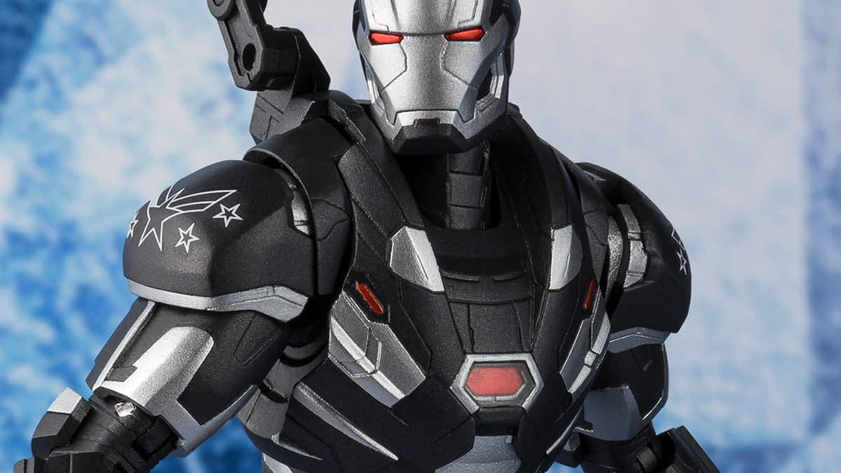"War Machine Joins the ""Endgame"" with New S.H Figuarts Figure"