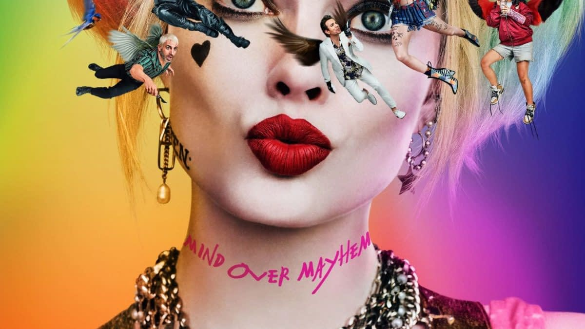 "Warner Bros Releases First Poster for ""Birds of Prey (And the Fantabulous Emancipation of One Harley Quinn)"""