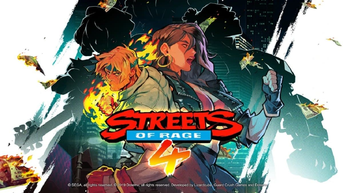 "Exclusive: ""Streets Of Rage 4"" Boss Clip With Cherry Hunter"