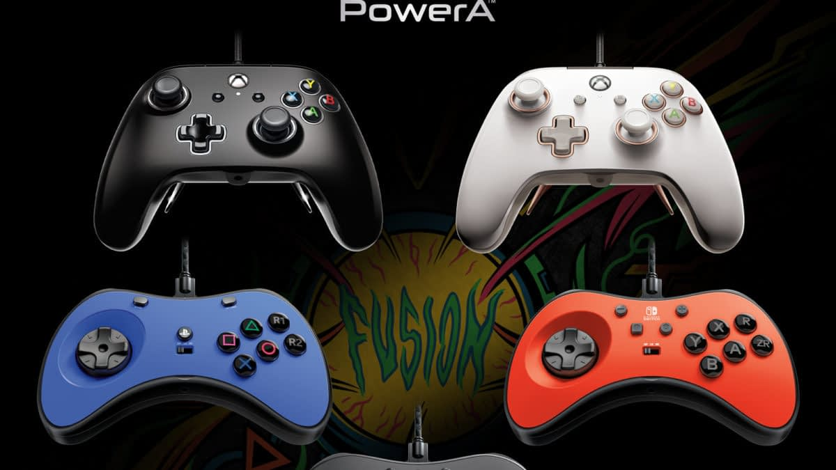 PowerA Introduces New Line Of FUSION Pro Wired Controllers