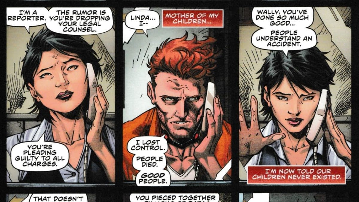 Does Wally West's Fast Forward #1 Throw Shade on Heroes In Crisis? (Spoilers)