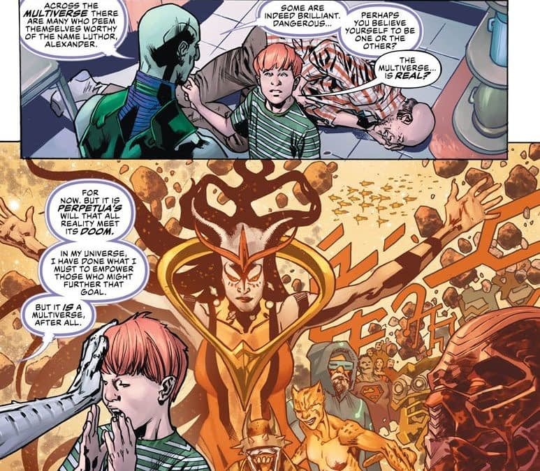 Is DC Comics Using the Same Plot as House Of X Again? Year Of The Villain: Lex Luthor #1 Spoilers