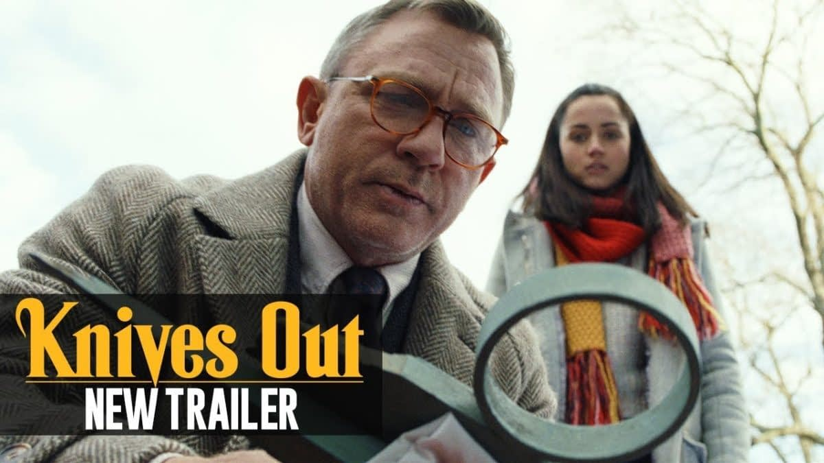 "New Trailer and Poster for Rian Johnson's ""Knives Out"""