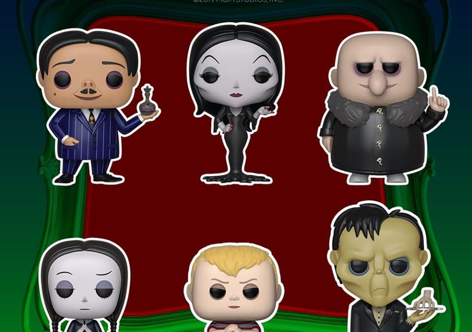 Funko Pop Round Up - Addams Family, Greatest Showman and More