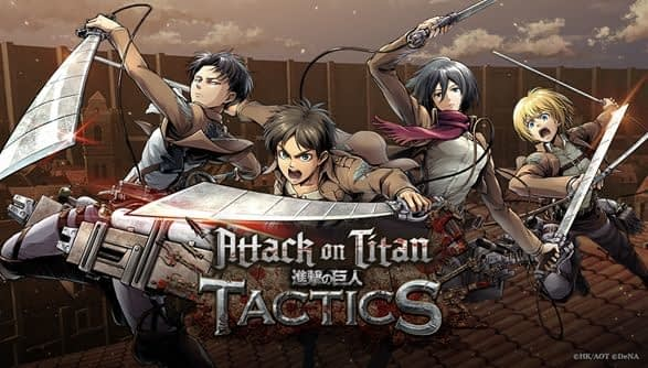 """""""Attack on Titan Tactics"""" is Now Available on iOS and Android"""