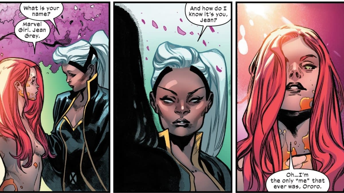 When Storm Welcomed Back Jean Grey in House Of X #5 - and in Uncanny X-Men #242