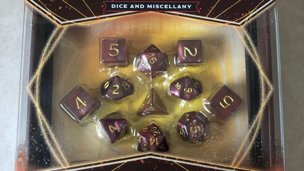 "Review: ""Dungeons & Dragons"" Descent Into Avernus Dice"