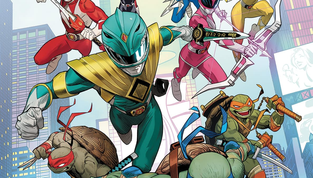 MMPRxTMNT - Mighty Morphin Power Rangers Vs Teenage Mutant Ninja Turtles - New Comics Crossover For December