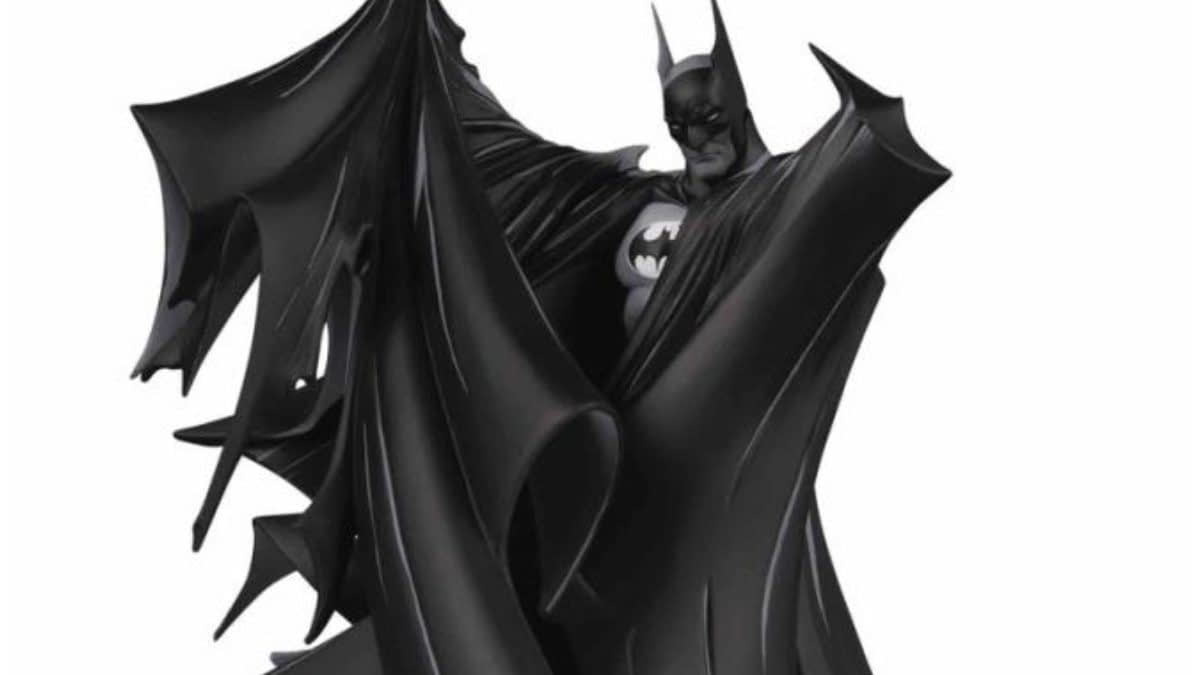 Batman Black and White Statue Series Hit Their 100th Statue