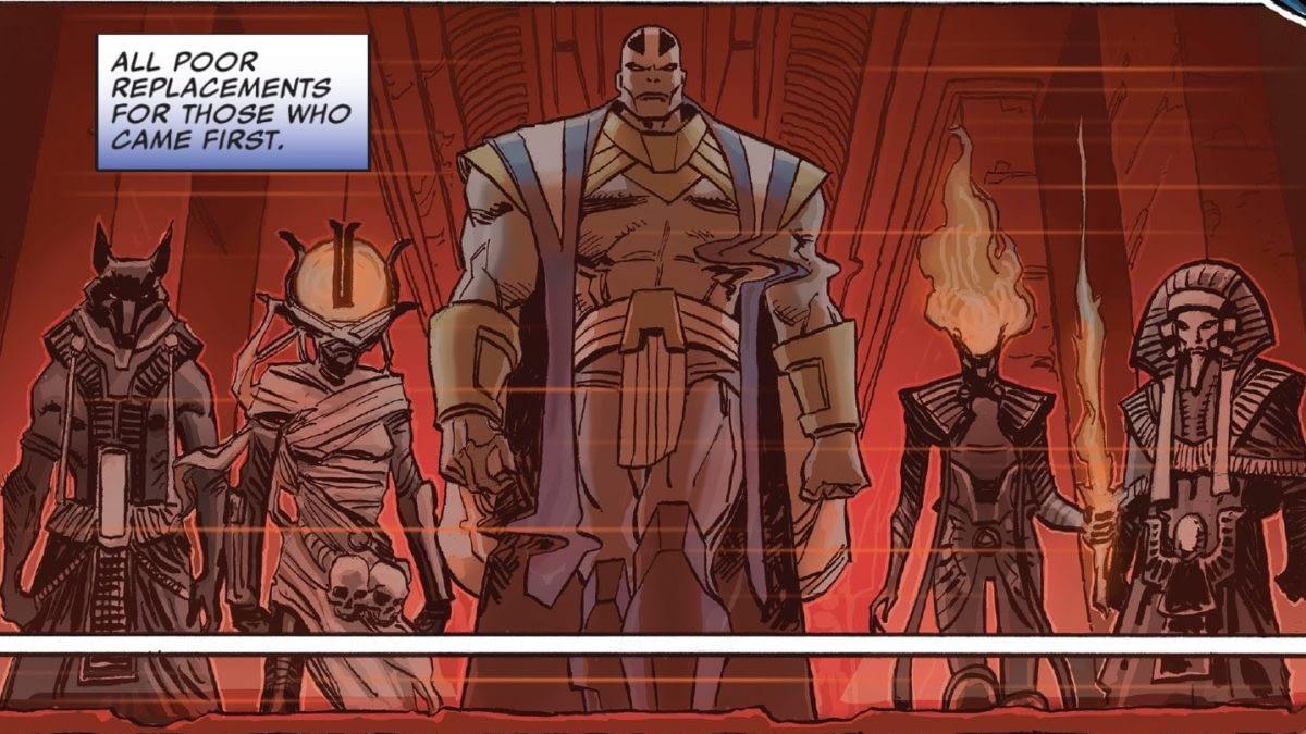Speculator Corner: Marvel Comics #1000 - First Appearance of Apocalypse's Original Four Horsemen From HOXPOX