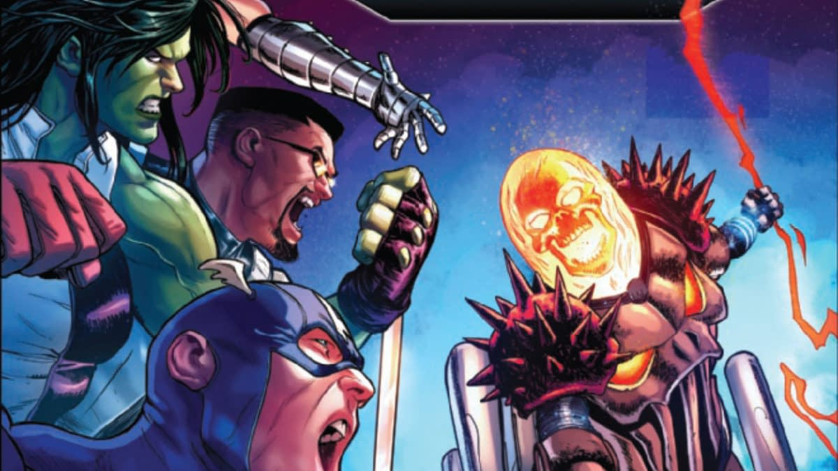 Can Cosmic Ghost Rider Lift Thor's Hammer? Avengers #24 [Preview]