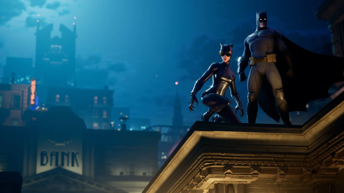 "Epic Games Turns ""Fortnite"" Island Into Gotham For Batman Event"