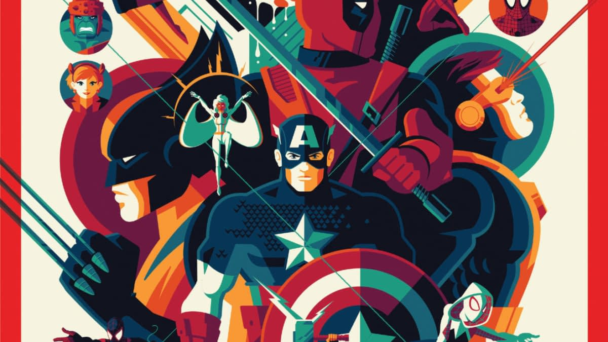 Marvel Reveals More NYCC Exclusive Variants and They Glow in the Dark