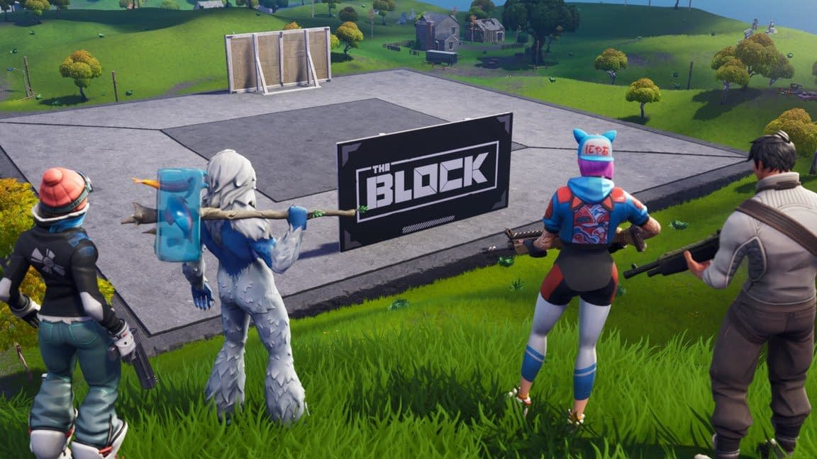 """Fortnite"" Has A New Rift Beacon Near The Block"
