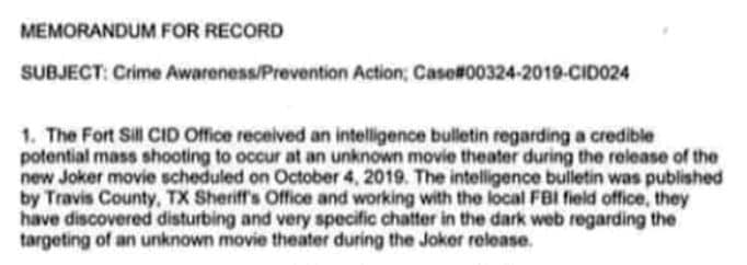 """Now Social Media Foul-Up for the """"Joker"""" Movie Draws Even More Controversy"""