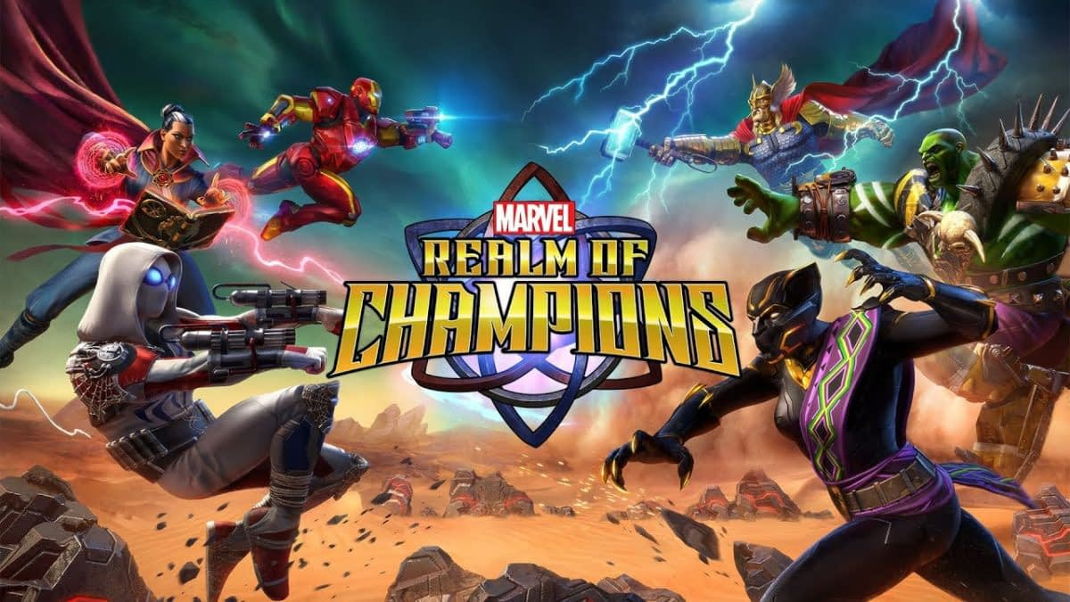 "Kabam Announces ""Marvel Realm Of Champions"" At NYCC"