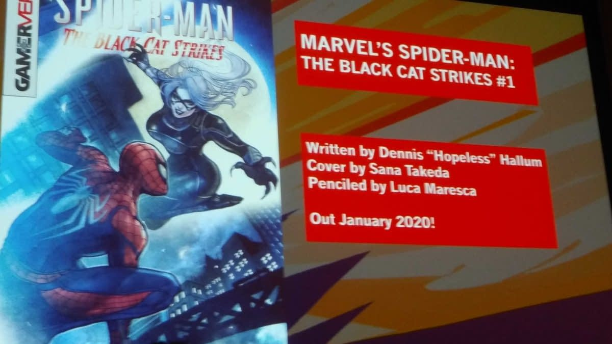 Marvel's Gamerverse Continues in January with Spider-Man: The Black Cat Strikes