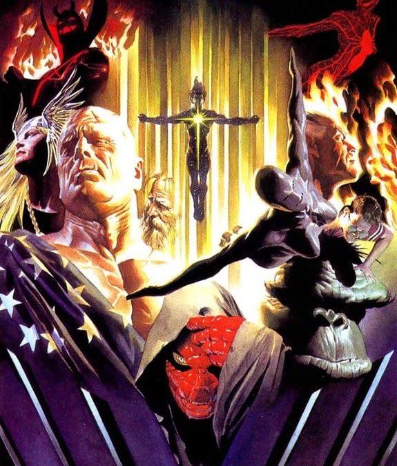 Alex Ross, Jim Krueger, Well-Bee Create Earth X Prequel, Marvels X