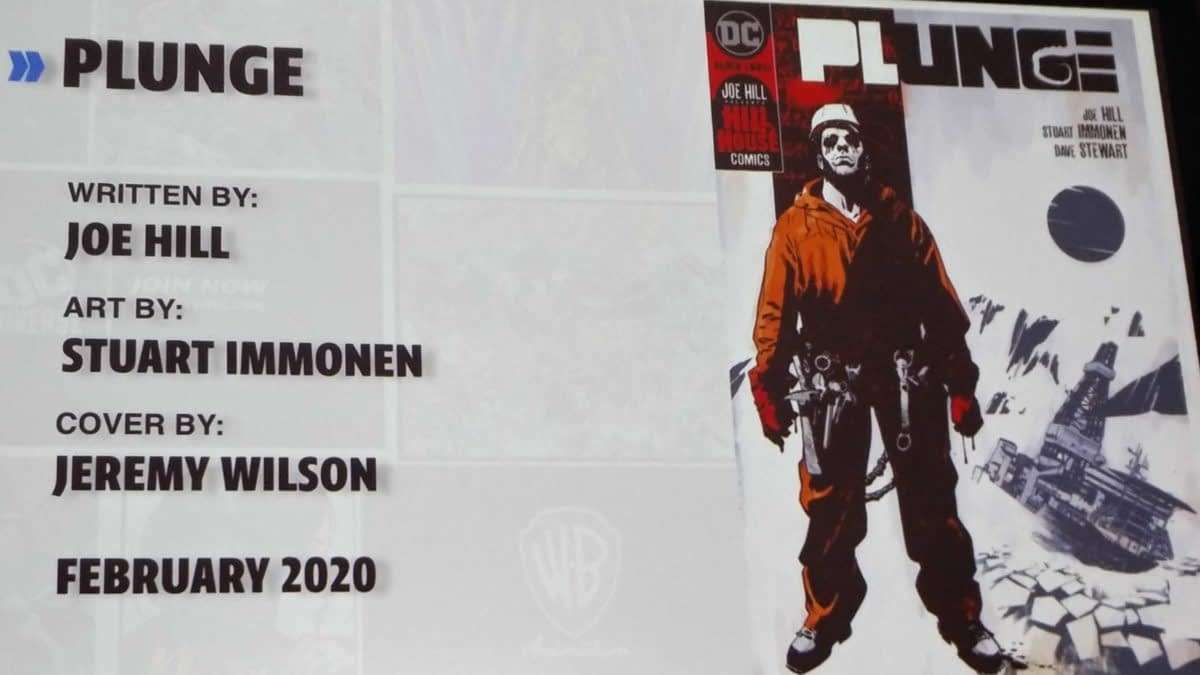 "Stuart Immonen, Artist of Joe Hill's ""Plunge"" From DC Black Label/Hill House Comics"