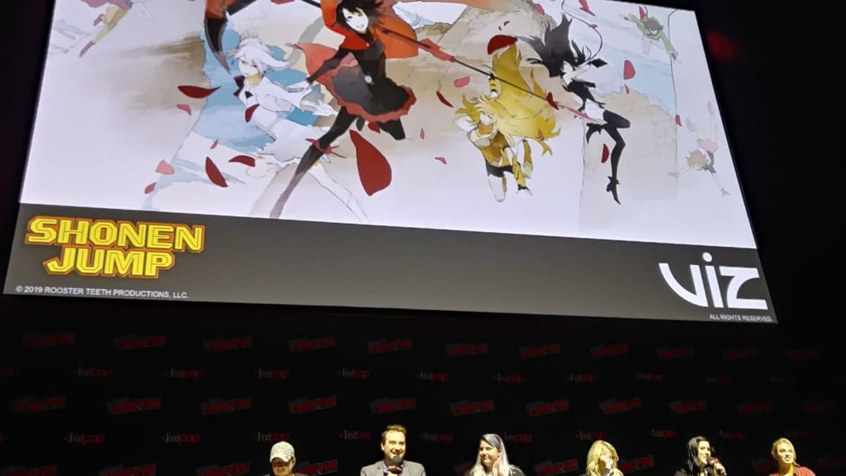 "Rooster Teeth's ""RWBY"" Volume 8 & 9 Already Greenlit, At NYCC"