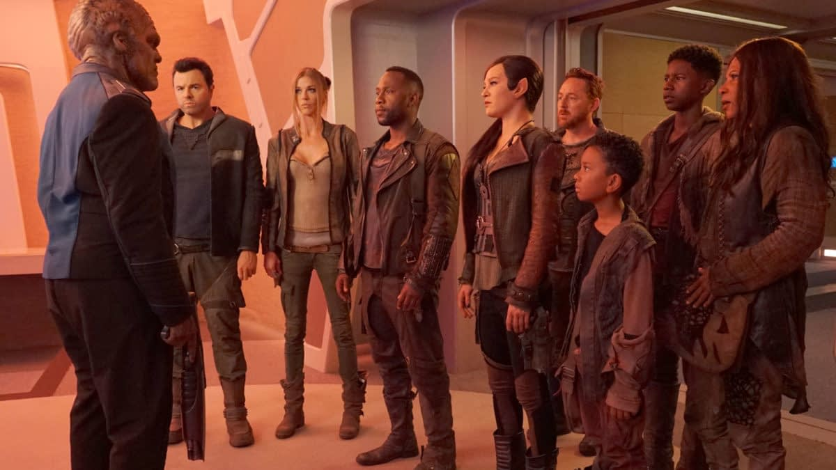 """The Orville"" Crew Brainstorm The Musical Episode That Will Never Be (at NYCC)"