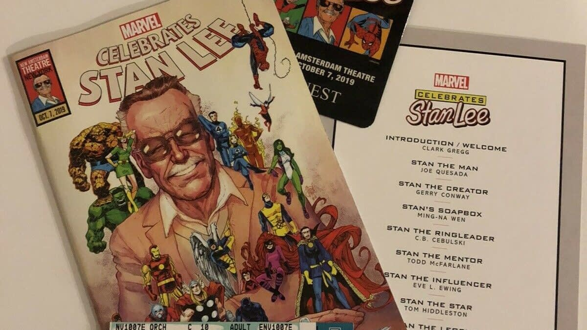 "Marvel Make Selling ""Celebrate Stan Lee"" Comics a Firing Offense"