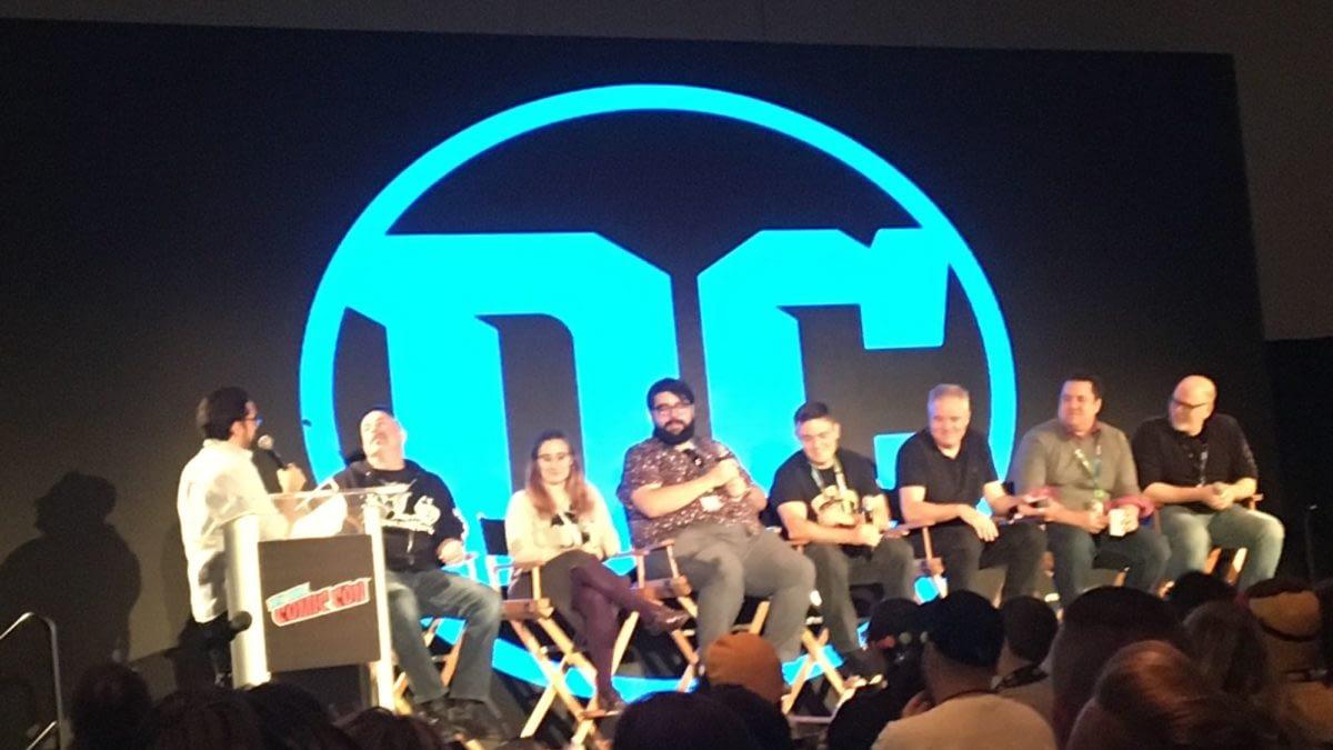 DC Comics' Year Of The Villain Panel at New York Comic Con