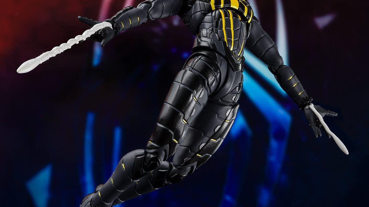 Spider-Man Gets His Anti-Ock Suit In The S.H. Figuarts Figure