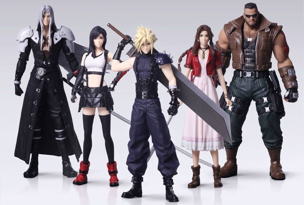 """Final Fantasy VII Remake"" Figures By Square Enix Are Coming Soon"