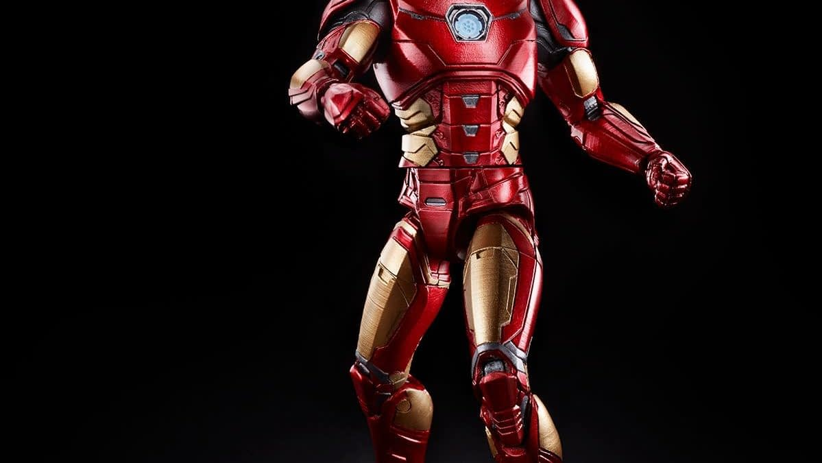 "Iron Man Gets A Marvel Legends Figure For ""Marvel's Avengers"""