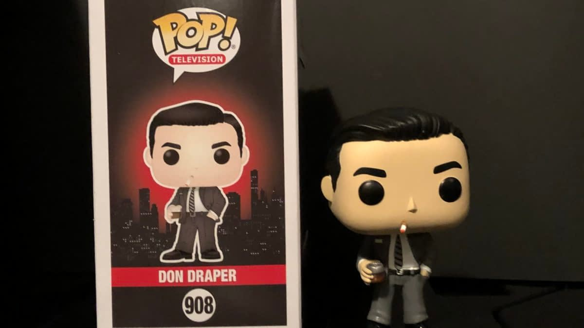 """Mad Men"" Gets Funko Pops! & Don Draper Has Arrived [Review]"