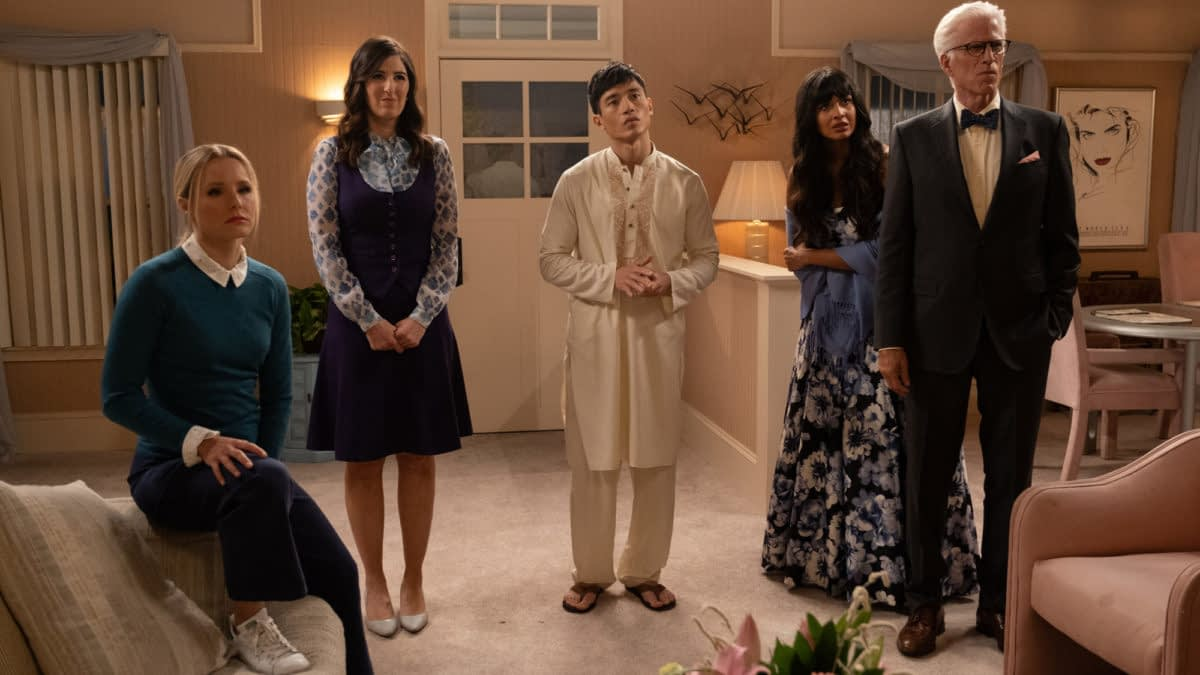 """The Good Place"" Season 4: Does Our Soul Squad Have A ""Tinker, Tailor, Demon, Spy"" in Their Midst? [PREVIEW]"
