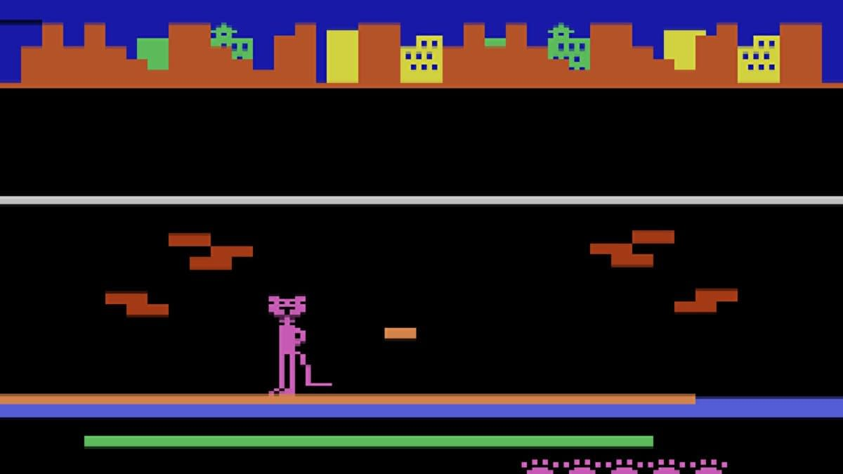 "A ROM Has Been Released Of Atari's ""Pursuit Of The Pink Panther"""
