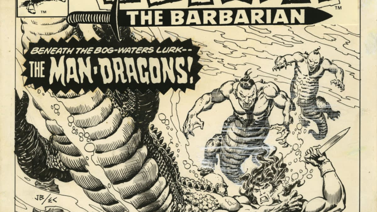 The World of John Buscema: The Art of the Michelangelo of Comics, On Display in Italy