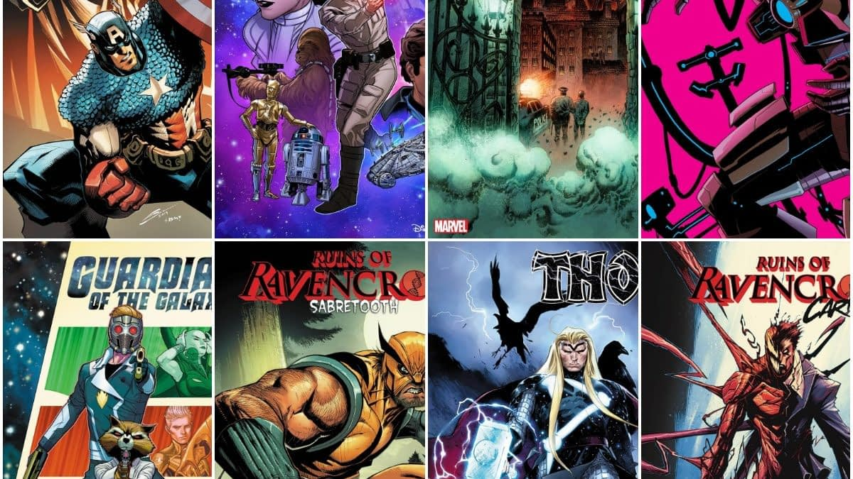 Marvel Comics Solicits For Ruins Of Ravencroft, Iron Man 2020, Guardians, Star Wars and Thor Launches in January 2020